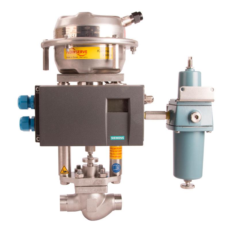 Reglerventiler Kämmer SmallFlow Typ 385000 och 080000 PN 10-400 från Fagerberg