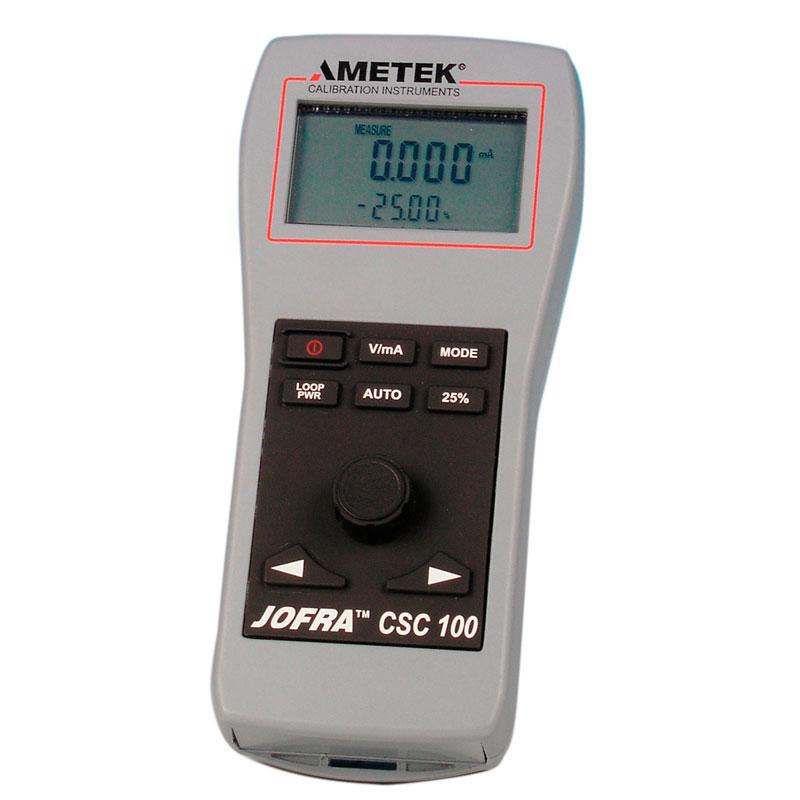 Test och kalibrering Ametek A/S CSC100 från Fagerberg