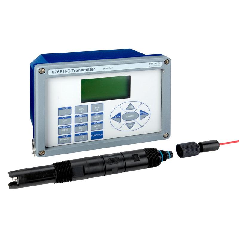 Vätskeanalys Foxboro Smart Sens 876PH från Fagerberg